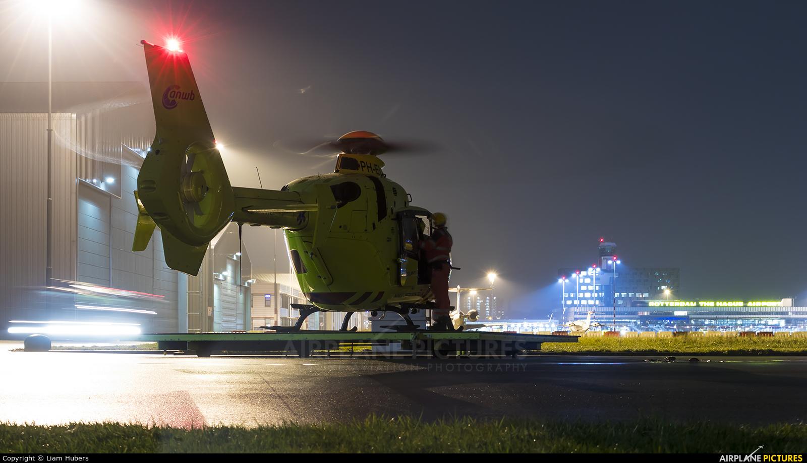 ANWB Medical Air Assistance PH-ELP aircraft at Rotterdam