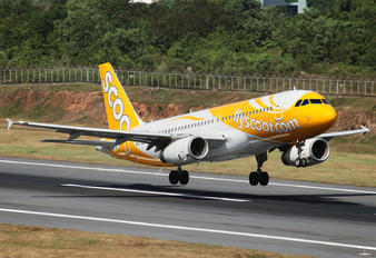 9V-TRD - Scoot Airbus A320