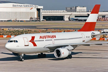 OE-LAA - Austrian Airlines/Arrows/Tyrolean Airbus A310