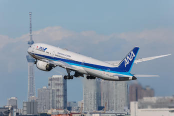 JA837A - ANA - All Nippon Airways Boeing 787-8 Dreamliner