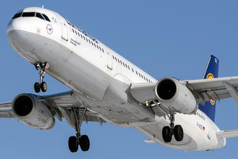 D-AISZ - Lufthansa Airbus A321