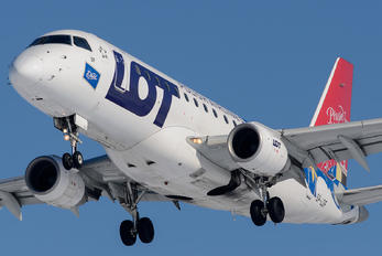 SP-LDF - LOT - Polish Airlines Embraer ERJ-170 (170-100)