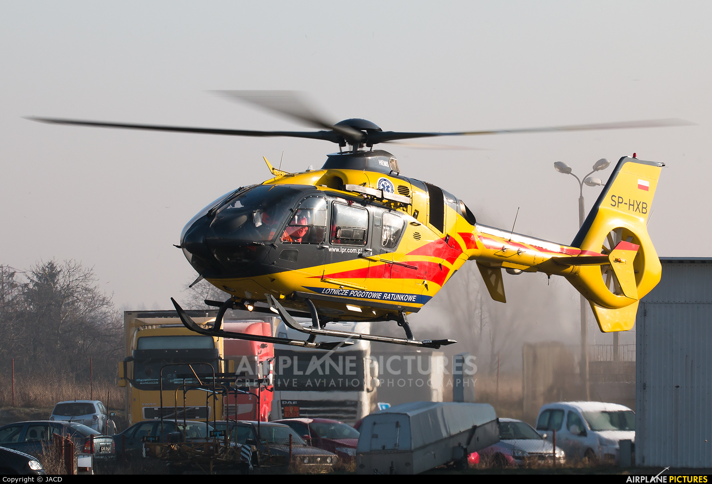 Polish Medical Air Rescue - Lotnicze Pogotowie Ratunkowe SP-HXB aircraft at Gliwice