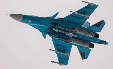 17 - Russia - Air Force Sukhoi Su-34