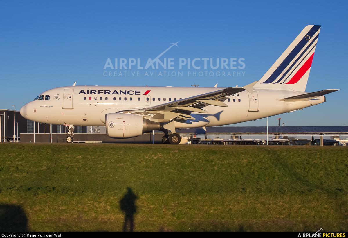 Air France F-GUGL aircraft at Amsterdam - Schiphol