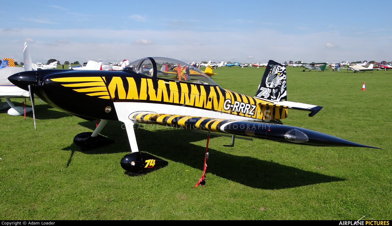 Private G-RRRZ aircraft at Northampton / Sywell