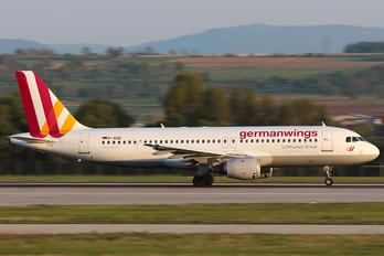 D-AIQB - Germanwings Airbus A320