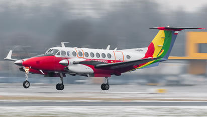 SP-TPU - Polish Air Navigation Services Agency - PAZP Beechcraft 300 King Air 350