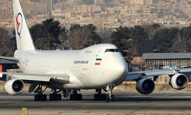 EP-FAB - Qeshm Fars Air Boeing 747-200F