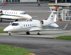 FAC1216 - Colombia - Air Force Learjet 60