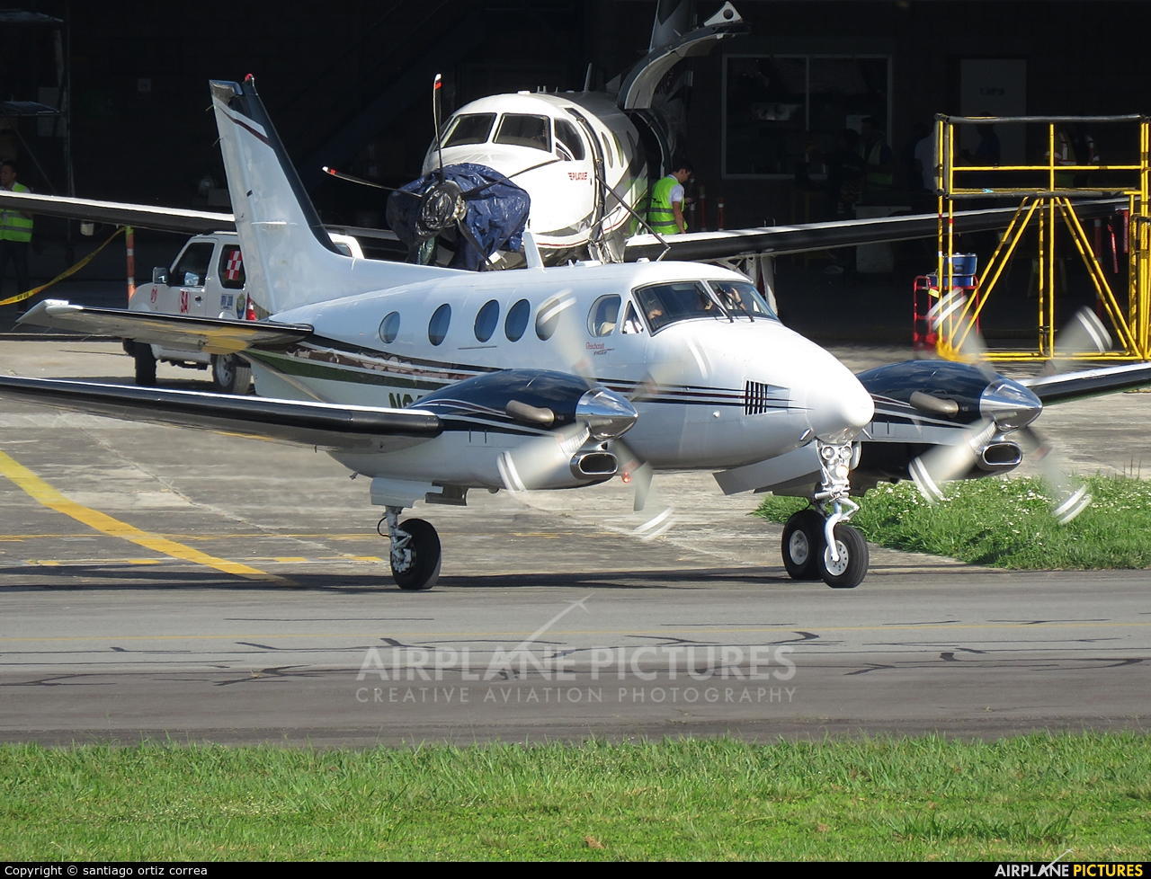 Private N8036J aircraft at Medellin - Olaya Herrera