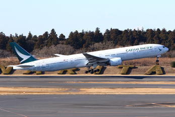B-HNK - Cathay Pacific Boeing 777-300