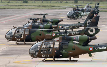 GBH - France - Army Aerospatiale SA-341 / 342 Gazelle (all models)
