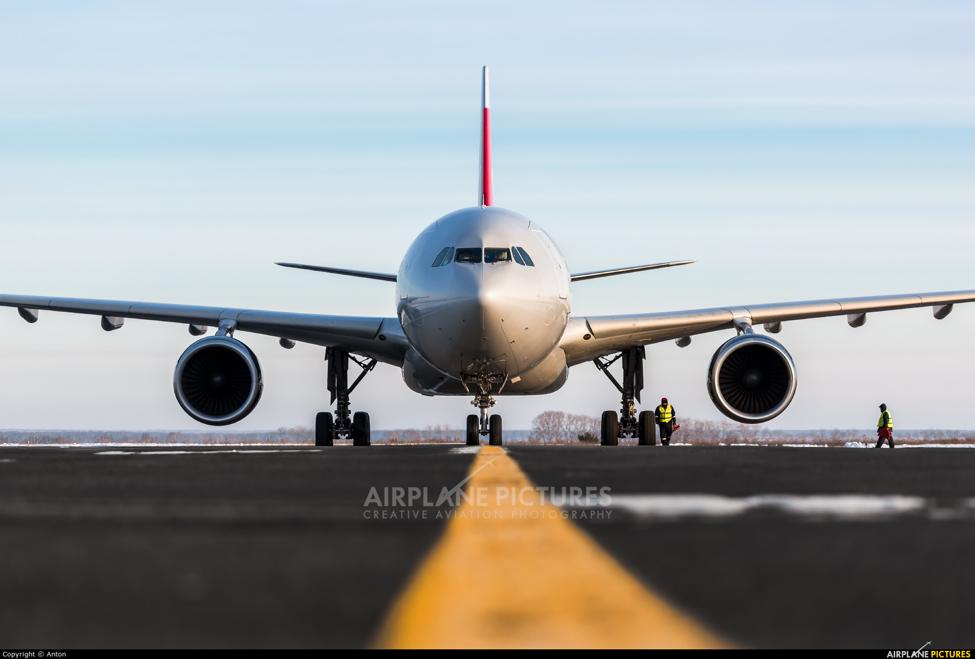 Nordwind Airlines VP-BYU aircraft at Chelyabinsk