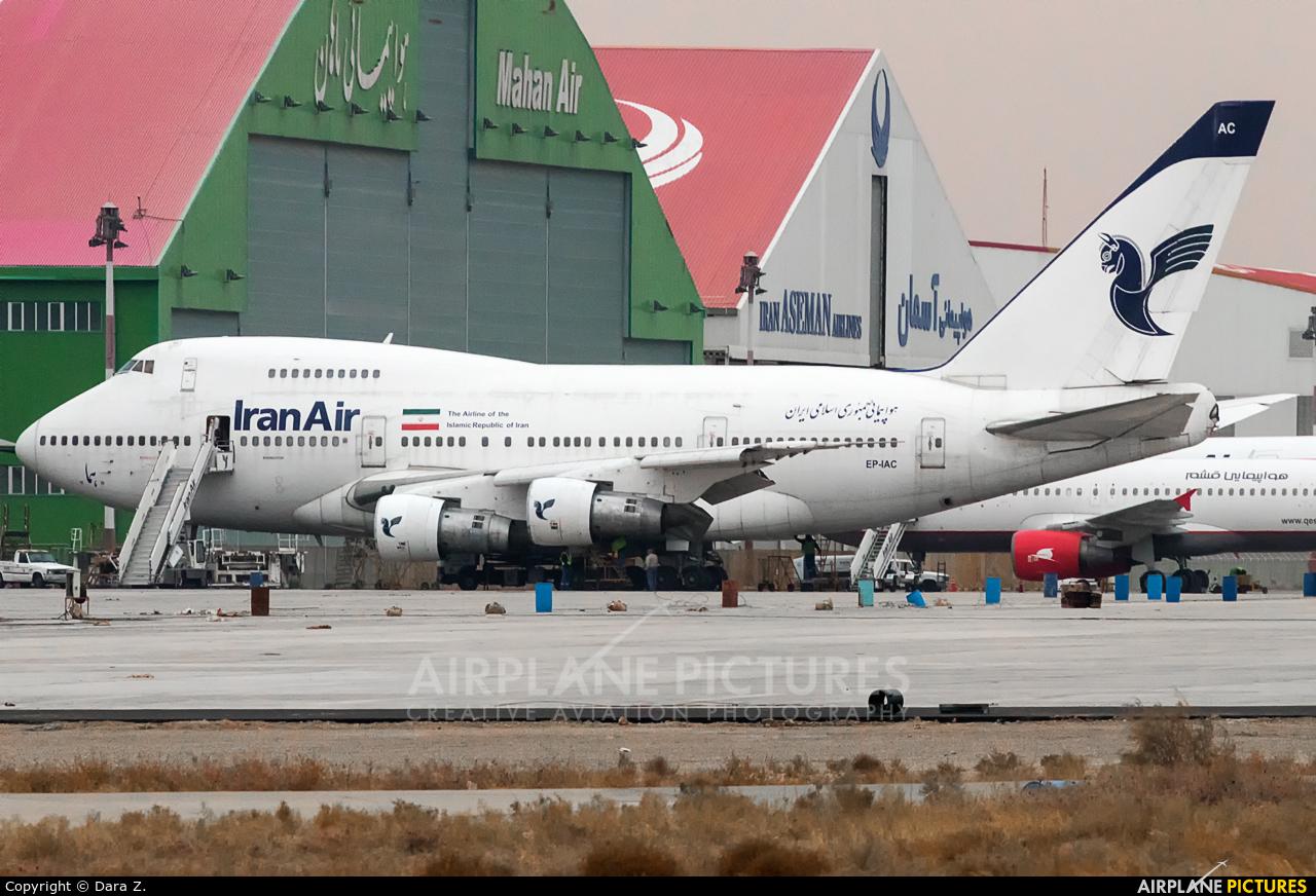 Iran Air EP-IAC aircraft at Tehran - Imam Khomeini Intl