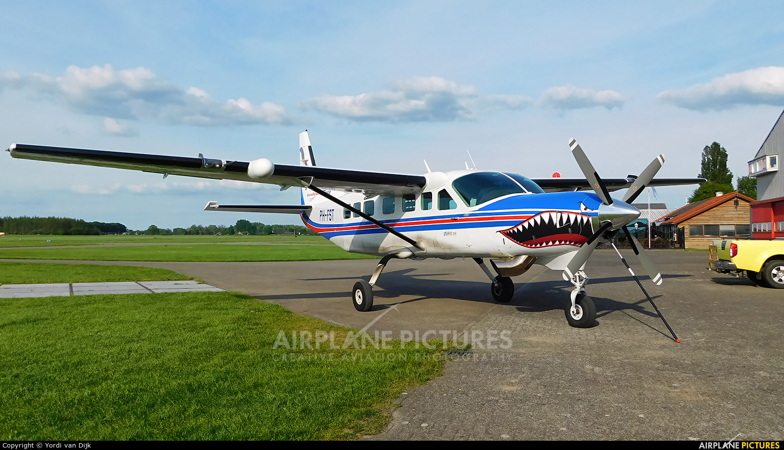 Private PH-FST aircraft at Amsterdam - Schiphol