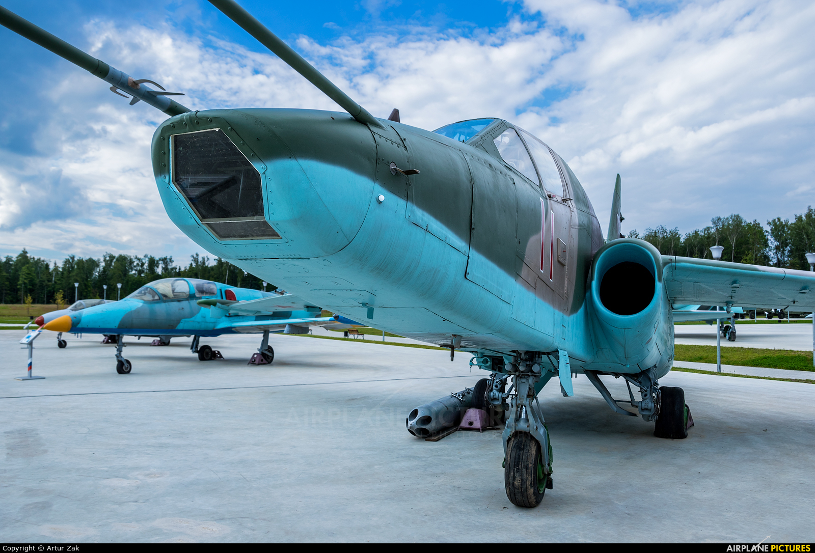 Russia - Air Force 71 aircraft at Off Airport - Russia