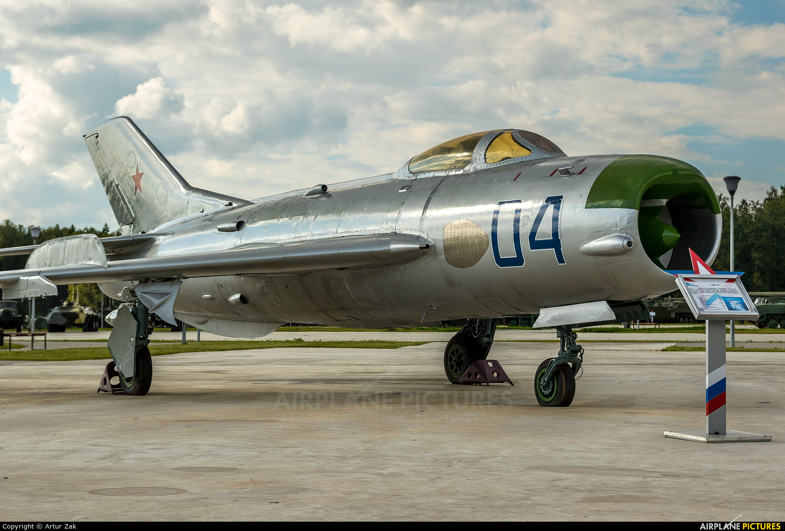 Russia - Air Force 04 aircraft at Off Airport - Russia
