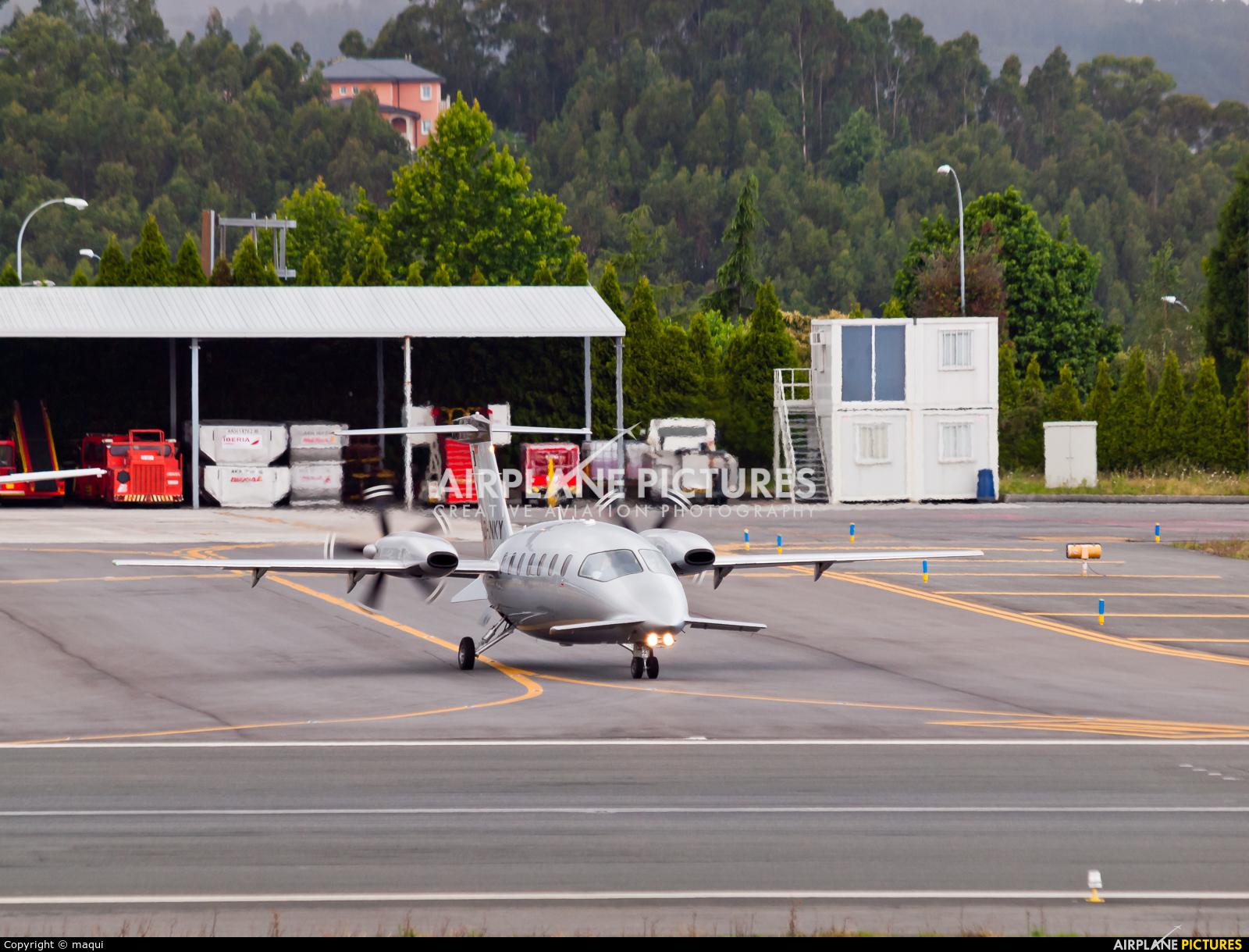 Air Go D-INKY aircraft at La Coruña