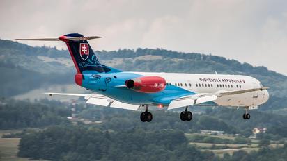 OM-BYB - Slovakia - Government Fokker 100