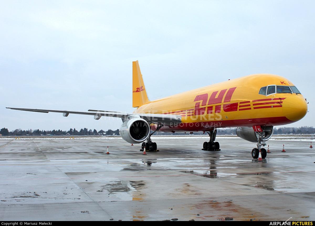 DHL Cargo G-DHKI aircraft at Warsaw - Frederic Chopin