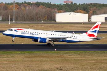 G-LCYU - British Airways - City Flyer Embraer ERJ-190 (190-100)