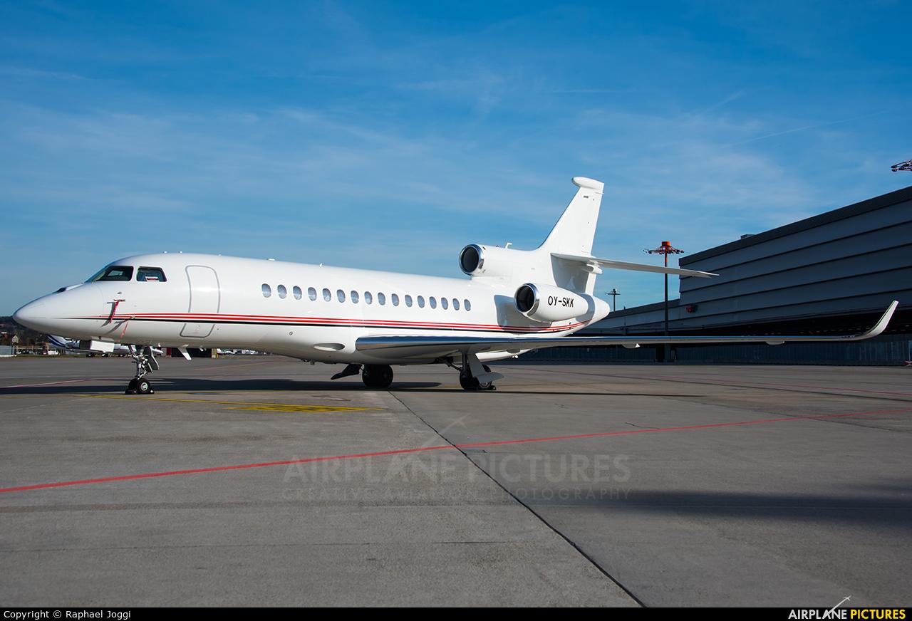 Air Alsie OY-SKK aircraft at Zurich