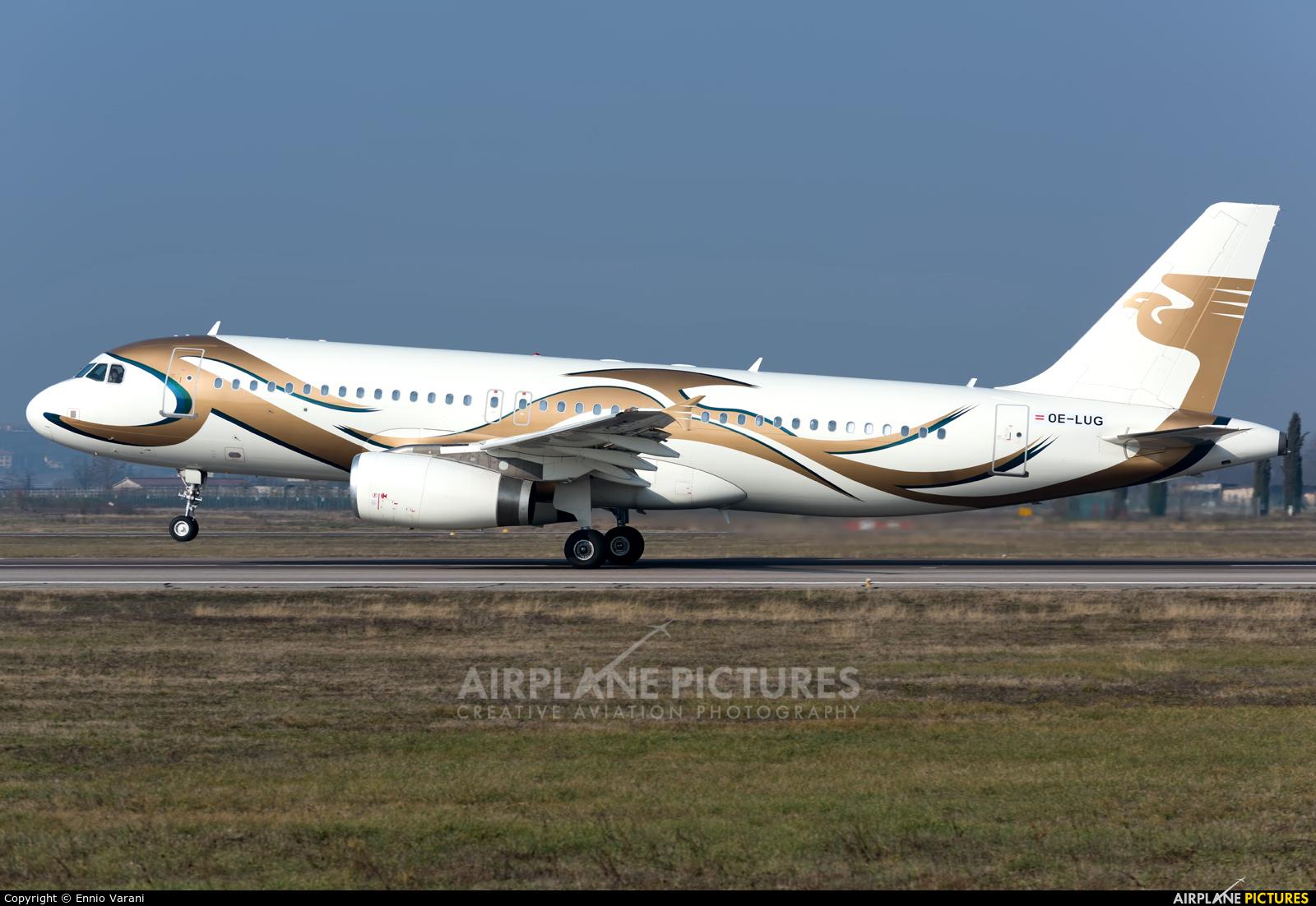 MJet Aviation OE-LUG aircraft at Verona - Villafranca