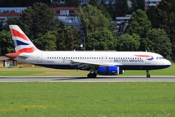 G-EUUY - British Airways Airbus A320