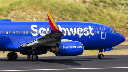 N497WN - Southwest Airlines Boeing 737-700