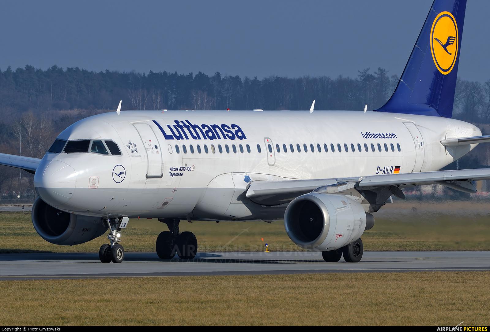 Lufthansa D-AILR aircraft at Kraków - John Paul II Intl