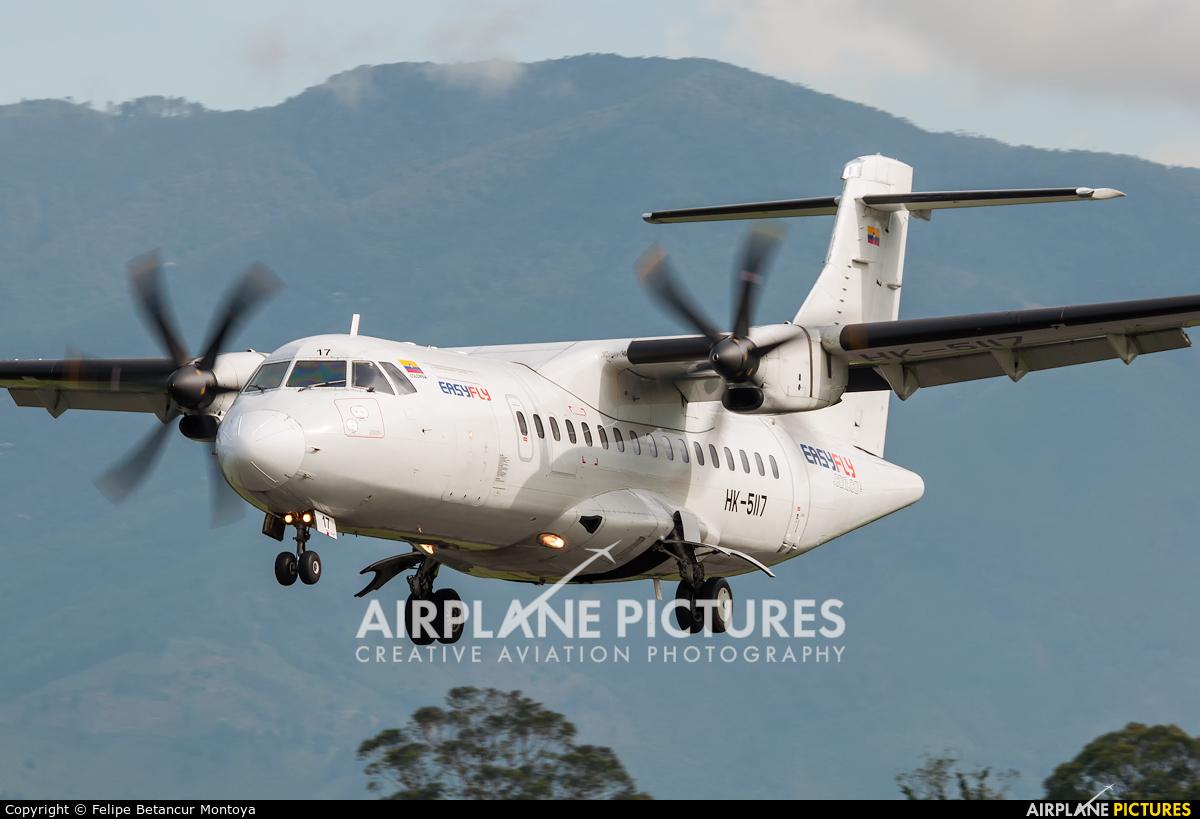 EasyFly HK-5117 aircraft at Medellin - Olaya Herrera