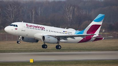 D-AGWT - Eurowings Airbus A319