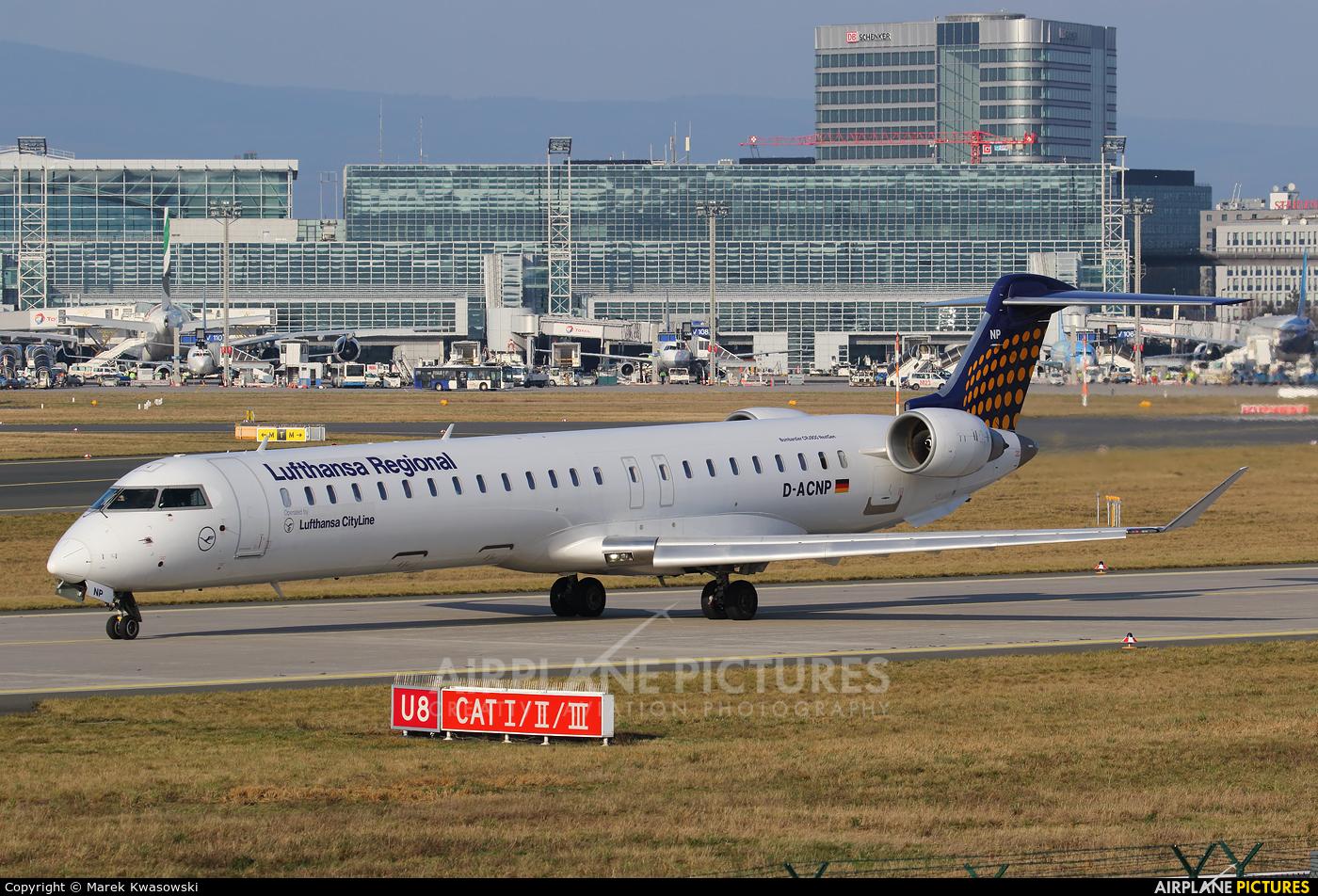 Lufthansa Regional - CityLine D-ACNP aircraft at Frankfurt
