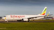 ET-AQO - Ethiopian Airlines Boeing 737-800 aircraft