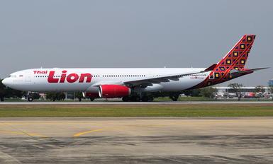 Thai lion air photos airplane pictures hs laj thai lion air airbus a330 300 stopboris Images