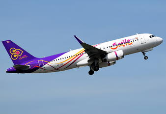 HS-TXR - Thai Airways Airbus A320