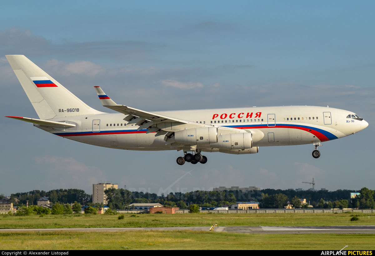 Rossiya RA-96018 aircraft at Novosibirsk