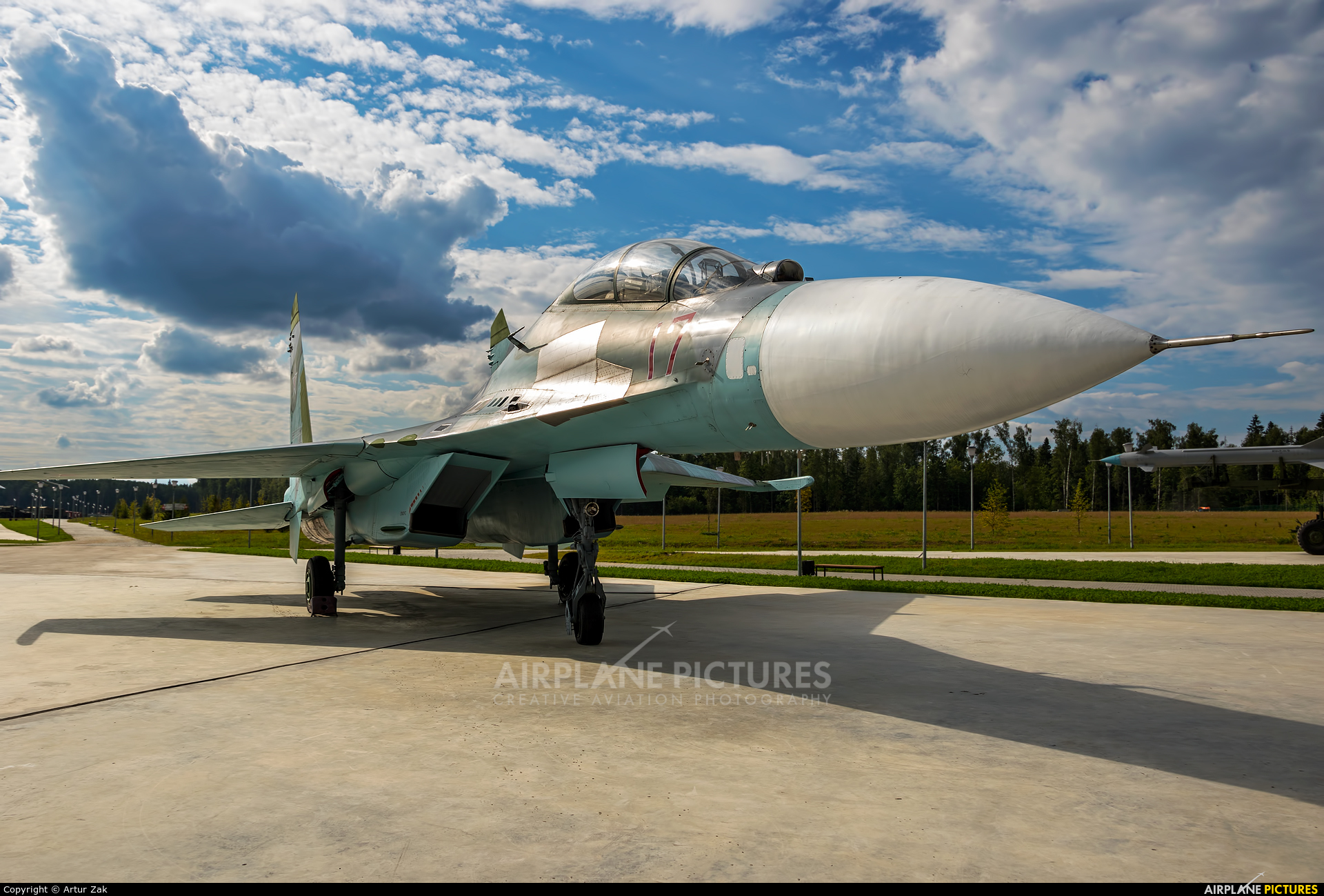 Russia - Air Force 17 aircraft at Off Airport - Russia