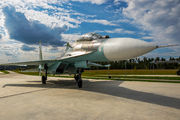 17 - Russia - Air Force Sukhoi Su-27UB aircraft