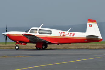 HB-DIF - Private Mooney M20M Tsl