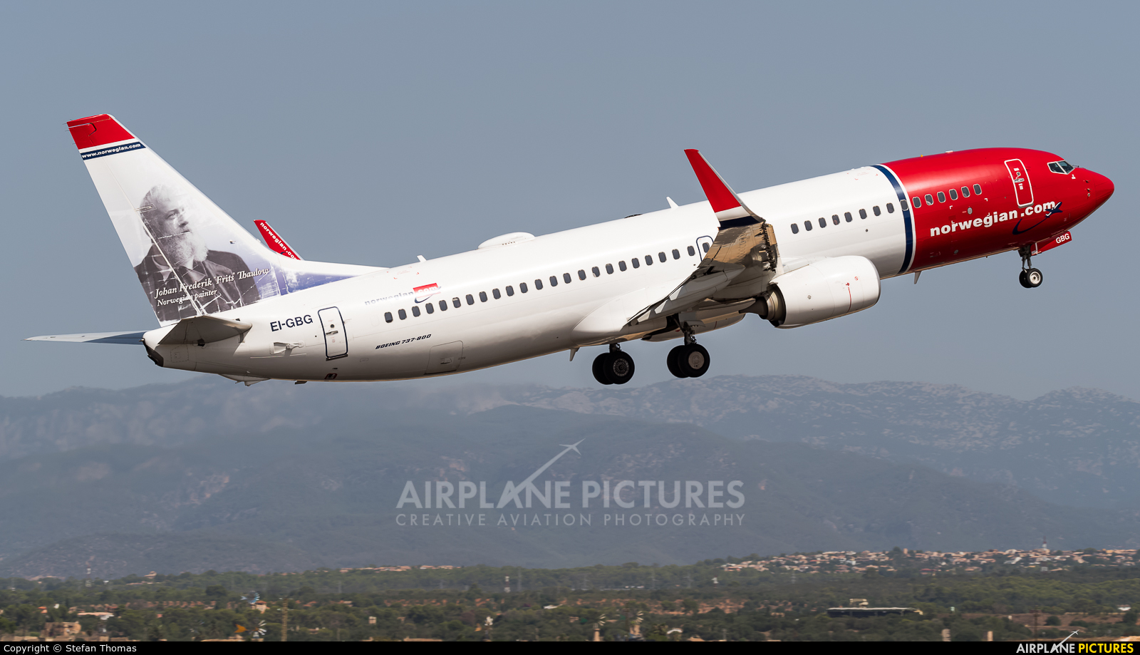 Norwegian Air International EI-GBG aircraft at Palma de Mallorca