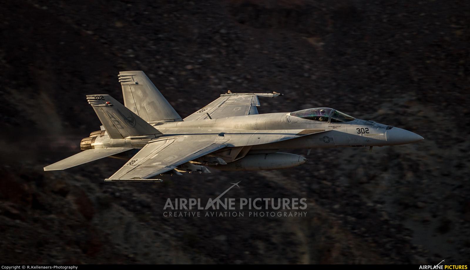 USA - Navy 166822 aircraft at Rainbow Canyon - Off Airport