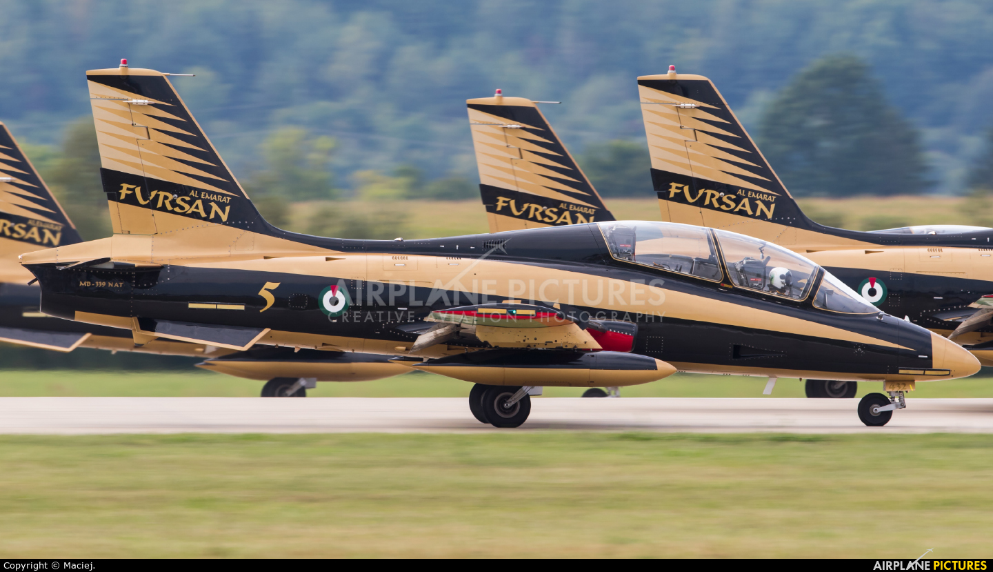 "United Arab Emirates - Air Force ""Al Fursan"" 432 aircraft at Sliač"