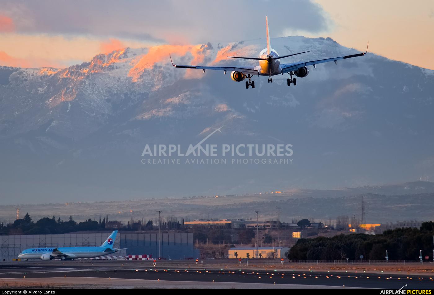 Air Europa EC-LLR aircraft at Madrid - Barajas