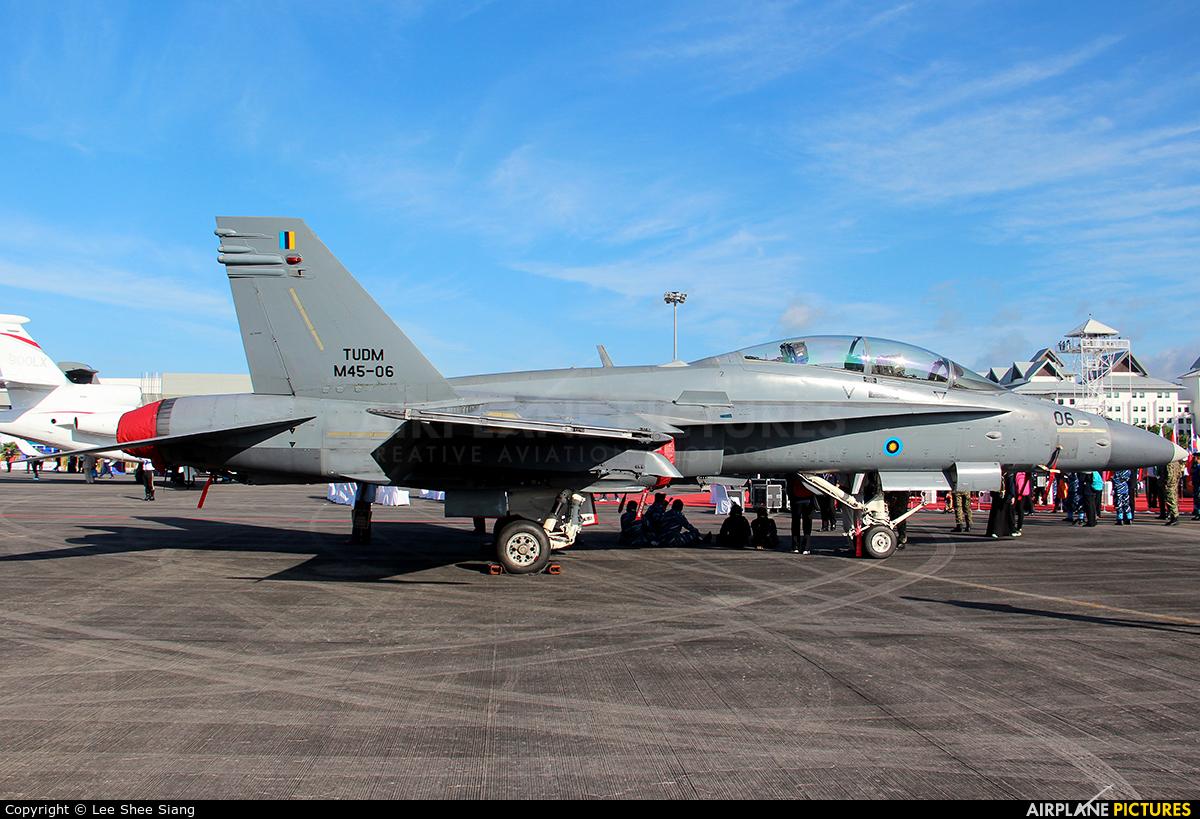 Malaysia - Air Force M45-06 aircraft at Langkawi