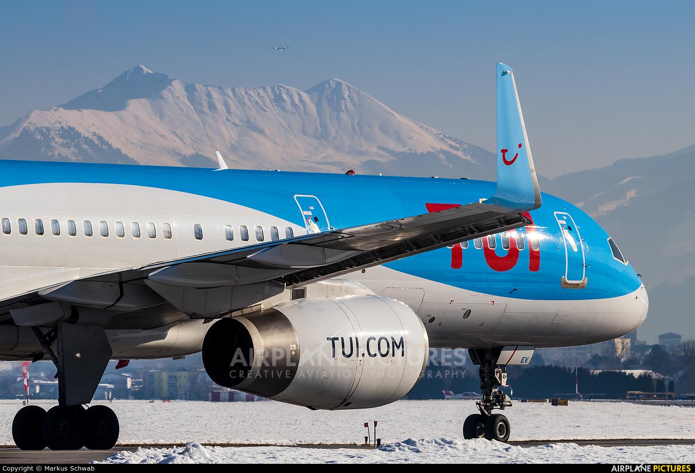 TUI Airways G-OOBD aircraft at Innsbruck