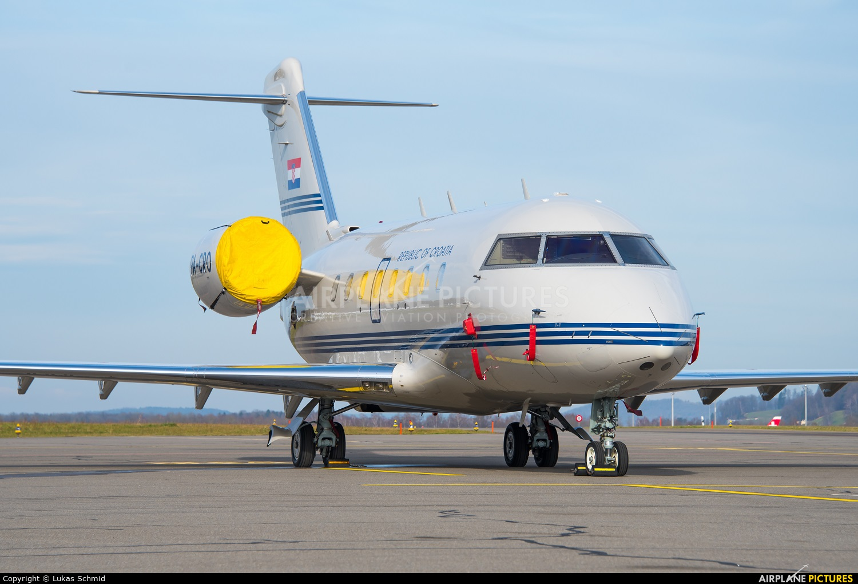 Croatia - Government 9A-CRO aircraft at Zurich