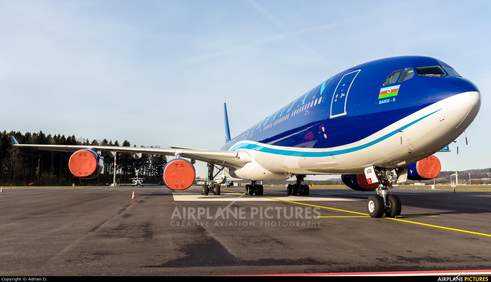 Azerbaijan - Government 4K-AI08 aircraft at Zurich