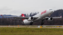 HB-JHL - Swiss Airbus A330-300 aircraft